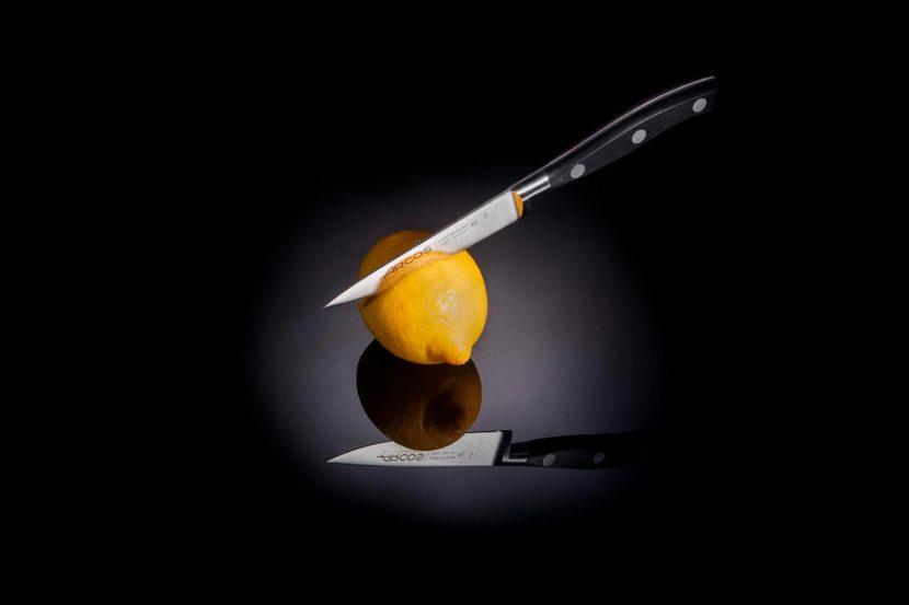 Fotografía producto Cuchillos de cocina Arcos Riviera Puntilla