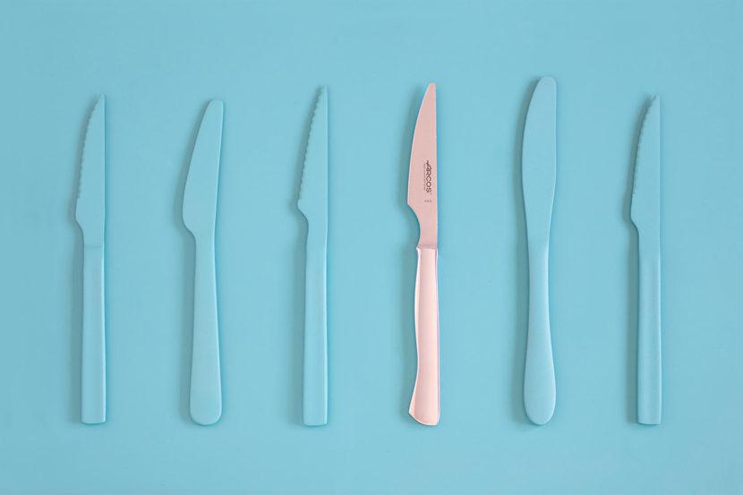 Fotografía producto Cuchillos de mesa Arcos